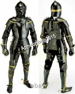 Medieval Knight Suit Of Armor Combat Full Body Armour Costume