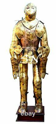 Medieval Knight Suit Of Armor Full Body Armor Suit Knight Halloween Costume