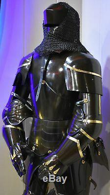 Medieval Knight Suit Of Armor Halloween Full Body Armour Halloween Costume
