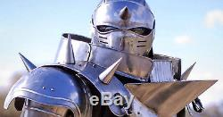 Medieval Knight Suit Of Armor Steel Combat Full Body Armour Wearable Knigh