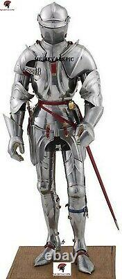 Medieval Knight Suit Of Armour Combat Crusader Armour Suit Full Body Armor suit