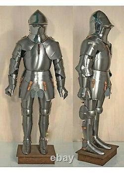 Medieval Knight Suit Of Templar Toledo Armor Combat Full Body Armour Knight Suit