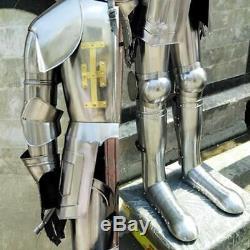 Medieval Knight Suit Of Templar Toledo Armor Combat Full Body Armour Replica