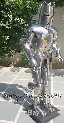 Medieval Knight Suit Of Templar Toledo Armor Combat Full Body Armour With Sword