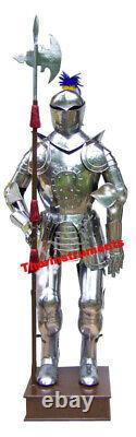 Medieval Knight Suit Of Templar Toledo Armor Combat Full Body Armour handmade