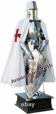 Medieval Knight Suit Of Templar Toledo Armour Combat Full Body Armour