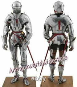 Medieval Knight Suit of Armor 15th Century Combat Full Body Armour