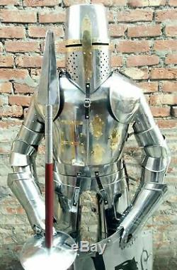 Medieval Knight Suit of Armor 15th Century Combat Full Body Armour Handmade
