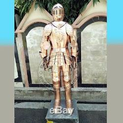 Medieval Knight Suit of Armor 15th Century Combat Full Body Armour Suit
