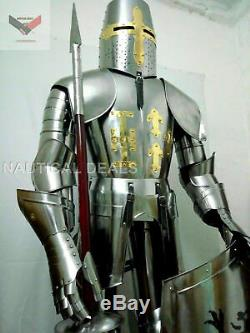 Medieval Knight Suit of Armor 15th Century Combat Full Body Armour VS 0788
