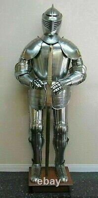Medieval Knight Suit of Armor 16th Century Larp Full Body Armor Suit