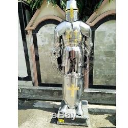Medieval Knight Suit of Armor 17th Century Combat Full Body Armour Suit & Shield