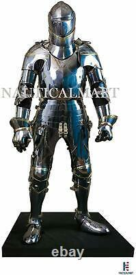 Medieval Knight Suit of Armor Ancient Wearable Full Body Costume
