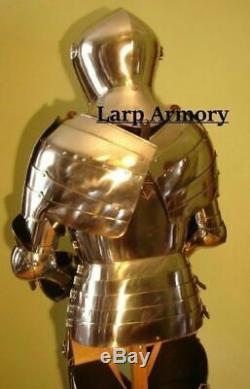 Medieval Knight Suit of Armor Battle Warrior Wearable armor Suit 18gauge Steel