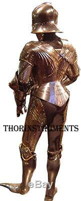 Medieval Knight Suit of Armor Combat Full Body Armor Suit