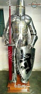 Medieval Knight Suit of Armor Combat Full Body Armour wearable Antique Style