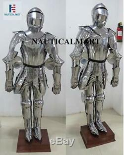Medieval Knight Suit of Armor Full Body Armour Halloween Costume
