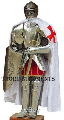 Medieval Knight Suit of Armor Gothic Full Body Rare Armor Suit WithShield Sword