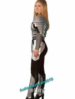 Medieval Knight Suit of Armor Lady Full Body Armor Suit