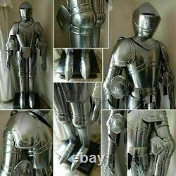 Medieval Knight Suit of Templar Armor WithTunic Combat Full Body Armour Gift Item