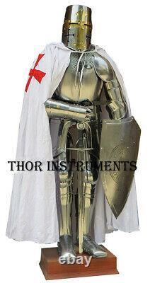 Medieval Knight Suit of Templar Toledo Armor Combat Full Body Armour