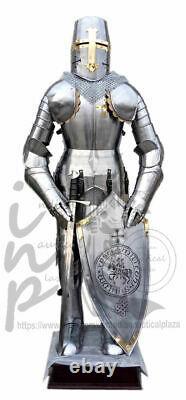 Medieval Knight Suit of Templar Toledo Armor Decor Full Body Armour Handmade