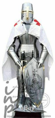 Medieval Knight Suit of Templar Toledo Armour Combat Full Body Armour Halloween