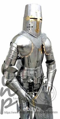 Medieval Knight Suit of Templar Toledo Armour Combat Full Body Armour SCA/ LARP