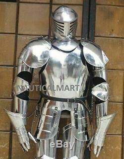 Medieval Knight Wearable Full Suit Of Armor Collectible Armour Costume