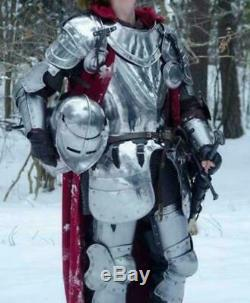 Medieval Knight Wearable Full Suit of Armor- LARP Custom Size christmas gift Sca