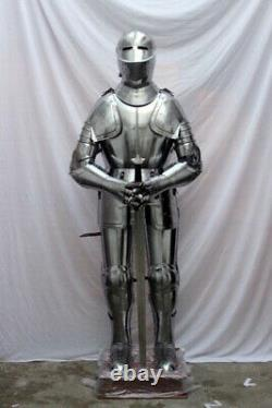 Medieval Knight Wearable Suit Of Armor Crusader Combat Full Body Armour AR26