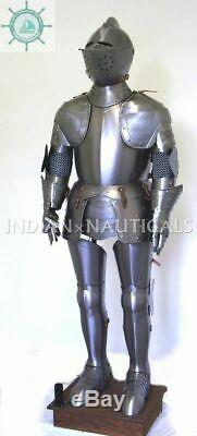 Medieval Knight Wearable Suit Of Armor Crusader Combat Full Body Armour AR39