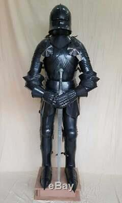 Medieval Knight Wearable Suit Of Armor Crusader Combat Full Body Worrier Armour