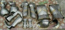 Medieval Knight Wearable Suit Of Armor Crusader Gothic Full Body Armour
