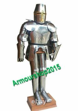 Medieval Knight Wearable Suit of Armor Full Body Armor Costume