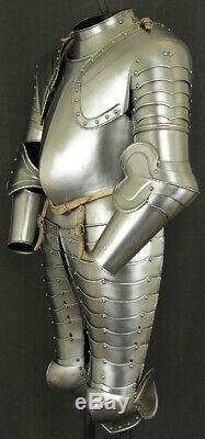 Medieval Knight's Armor Suit Battle Warrior LARP Half armor Suit Replica