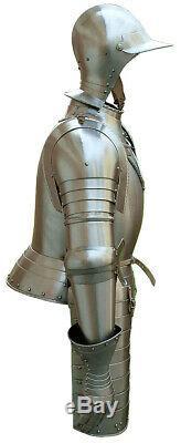 Medieval Knight's Italian Armor Suit 15th Century LARP Half armor Suit Replica