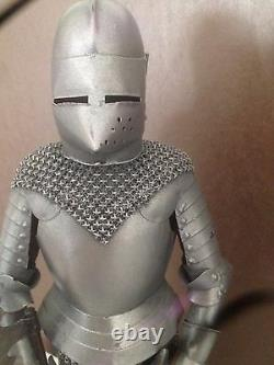 Medieval Knight with suit of armor etc