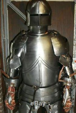 Medieval Larp Knight Wearable Full Suit Of Armor Reenactment Costume Suit