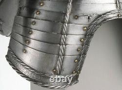 Medieval Plate Armor Knight Suit Battle Ready Steel Armour Suit