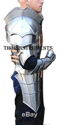 Medieval Reenactment Knight Half Suit of Armor Costume