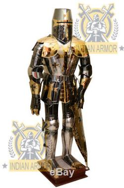 Medieval Reenactment knight Suit of Armor Wearable SCA Medieval Unique Costume