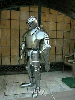 Medieval Roman Knight Wearable Full Suit Of Armor Collectible Armour Costume War