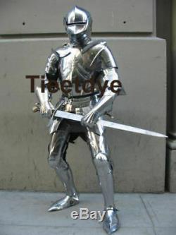 Medieval SCA/ LARP Knight Suit of Templar Toledo Armour Combat Full Body Armour