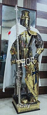 Medieval Stainless Steel Rust Free full body Knight Armor Suit
