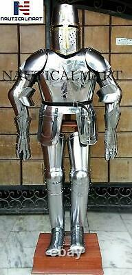 Medieval Suit Of Armor Greek Armour Suit Knight Combat Full Body Collectible