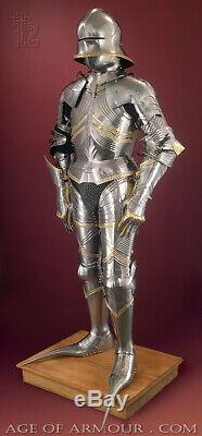 Medieval Warrior Knight Gothic Full Suit Of Armor Wearable Medieval Costume I