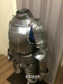 Medieval Warrior Knight Maximilian 3/4 Half Body Armor Suit Fully Wearable