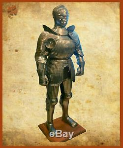 Medieval Warrior Knight Maximilian Full Suit Of Armor Fully Wearable Costume