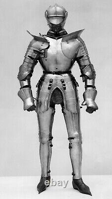 Medieval Wearable Armour Suit German Knight Crusader Suit of Armor costume
